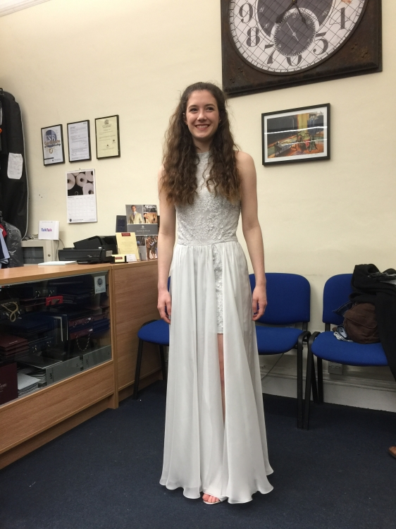 Bespoke prom outfit