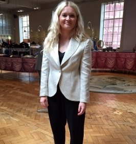 Creating a bespoke ladies suit